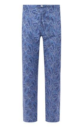 Мужские хлопковые брюки ROBERTO RICETTI синего цвета, арт. PANTAPA/0R02313 | Фото 1
