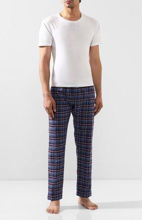 Мужские хлопковые брюки ROBERTO RICETTI синего цвета, арт. PANTAPA/C2312 | Фото 2