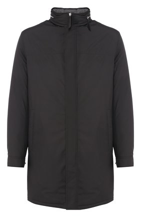 Мужская парка ANDREA CAMPAGNA черного цвета, арт. 10501H9NW5010 | Фото 1 (Статус проверки: Проверена категория; Материал внешний: Синтетический материал; Рукава: Длинные; Материал подклада: Синтетический материал; Длина (верхняя одежда): До середины бедра; Мужское Кросс-КТ: Верхняя одежда; Кросс-КТ: Куртка)