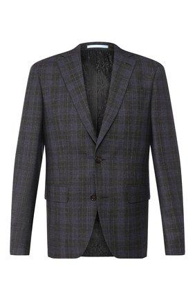 Мужской шерстяной пиджак SAND темно-серого цвета, арт. 1602 STAR NAP0LI | Фото 1
