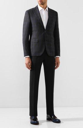 Мужской шерстяной пиджак SAND темно-серого цвета, арт. 1602 STAR NAP0LI | Фото 2