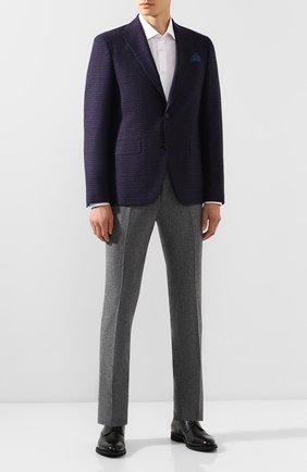Мужской шерстяной пиджак SAND темно-синего цвета, арт. 6188 STAR NAP0LI | Фото 2