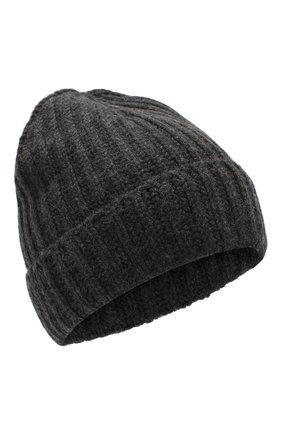 Мужская кашемировая шапка GRAN SASSO темно-серого цвета, арт. 10162/15552 | Фото 1