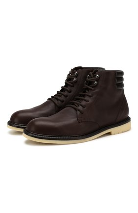 Мужские кожаные ботинки icer walk LORO PIANA коричневого цвета, арт. FAI7569 | Фото 1