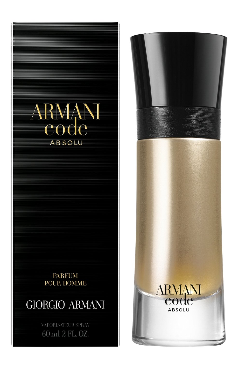 Мужской парфюмерная вода armani code absolu GIORGIO ARMANI бесцветного цвета, арт. 3614272407435 | Фото 2
