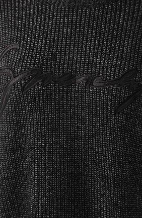 Платье из смеси хлопка и шерсти | Фото №5