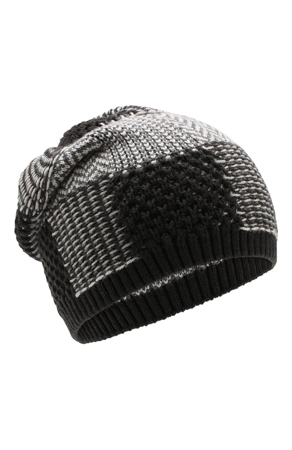 Мужская шерстяная шапка GIORGIO ARMANI серого цвета, арт. 747393/9A523   Фото 1