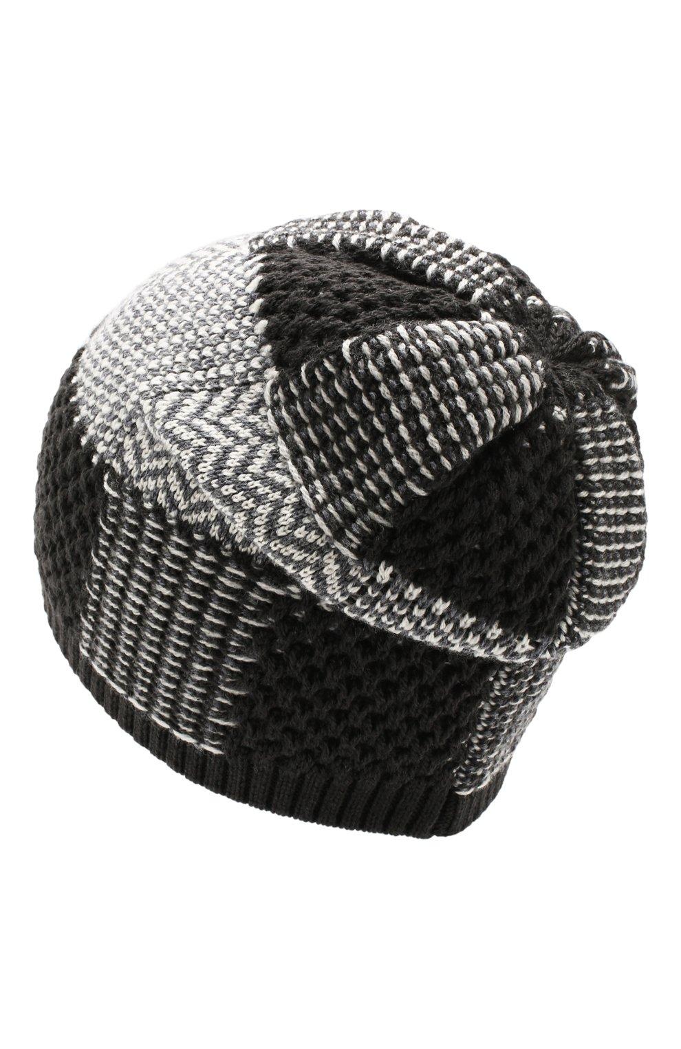 Мужская шерстяная шапка GIORGIO ARMANI серого цвета, арт. 747393/9A523   Фото 2