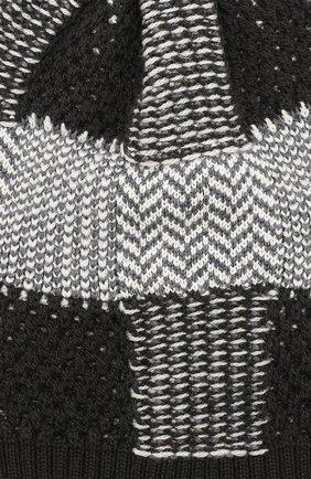 Мужская шерстяная шапка GIORGIO ARMANI серого цвета, арт. 747393/9A523   Фото 3