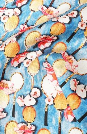 Мужской шелковый платок ETON голубого цвета, арт. A000 31701 | Фото 2