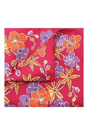 Мужской шелковый платок ETON бордового цвета, арт. A000 31703 | Фото 1