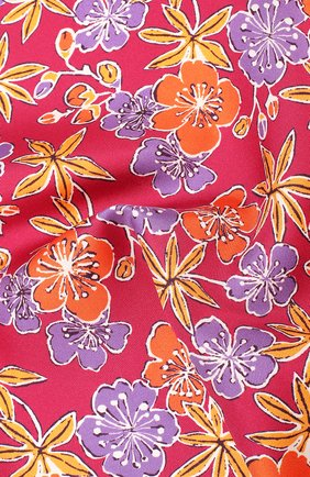 Мужской шелковый платок ETON бордового цвета, арт. A000 31703 | Фото 2