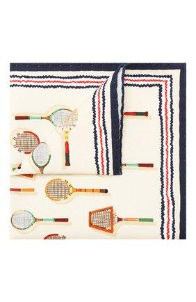 Мужской платок из смеси хлопка и шелка ETON кремвого цвета, арт. A000 31710 | Фото 1