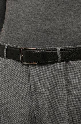 Мужской кожаный ремень BARRETT черного цвета, арт. 92B564.1/RAM0N | Фото 2