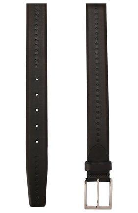 Мужской кожаный ремень BARRETT темно-коричневого цвета, арт. 71B526.2/C0RSAR0 | Фото 2