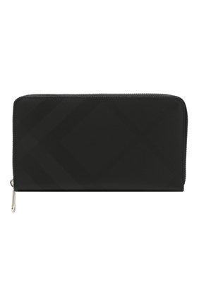 Мужской портмоне BURBERRY темно-серого цвета, арт. 8014474 | Фото 1