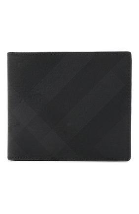 Мужской портмоне BURBERRY темно-серого цвета, арт. 8014484 | Фото 1