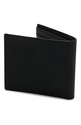 Мужской портмоне BURBERRY темно-серого цвета, арт. 8014484 | Фото 2