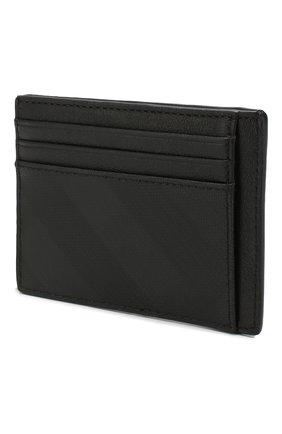 Мужской футляр для кредитных карт BURBERRY темно-серого цвета, арт. 8014488 | Фото 2