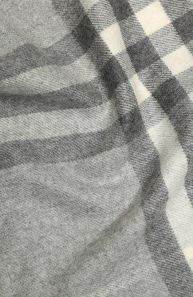 Мужской кашемировый шарф BURBERRY серого цвета, арт. 8015532 | Фото 2