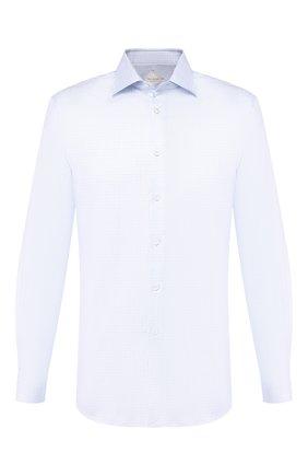 Мужская хлопковая сорочка PAL ZILERI голубого цвета, арт. P370G45----B0286 | Фото 1