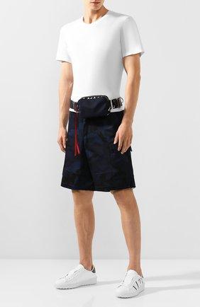 Текстильная поясная сумка Valentino Garavani VLTN | Фото №2