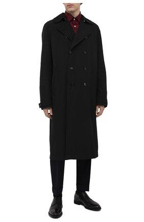 Мужские кожаные дерби BARRETT черного цвета, арт. 111U016.72/BETIS CREAM | Фото 2 (Статус проверки: Проверено, Проверена категория; Стили: Классический)