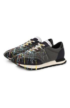 Мужские комбинированные кроссовки replica MAISON MARGIELA разноцветного цвета, арт. S57WS0283/P1973 | Фото 1
