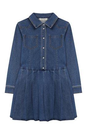 Джинсовое платье-рубашка | Фото №1
