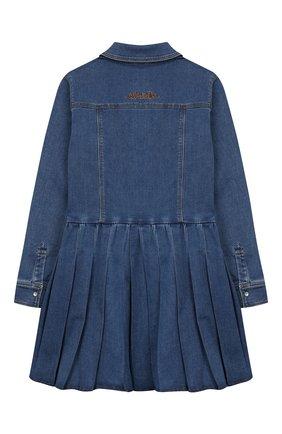 Джинсовое платье-рубашка | Фото №2