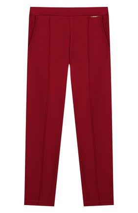 Детские брюки TWINSET бордового цвета, арт. 192GJ2250/12A-16A | Фото 1