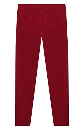 Детские брюки TWINSET бордового цвета, арт. 192GJ2250/12A-16A | Фото 2