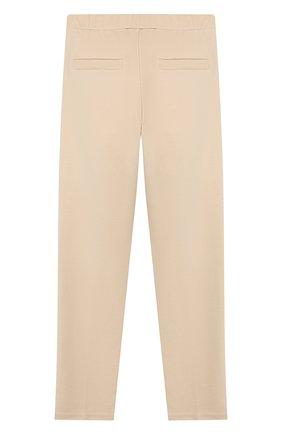 Детские брюки TWINSET бежевого цвета, арт. 192GJ2250/12A-16A | Фото 2
