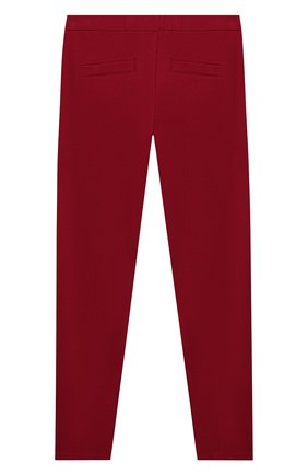 Детские брюки TWINSET бордового цвета, арт. 192GJ2250/6A-10A | Фото 2