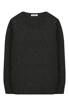 Детский шерстяной пуловер PAOLO PECORA MILANO серого цвета, арт. PP1926/6Y-12Y | Фото 1