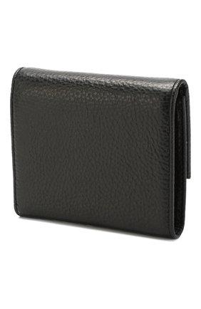 Женские кожаный кошелек COCCINELLE черного цвета, арт. E2 EW5 11 96 01   Фото 2