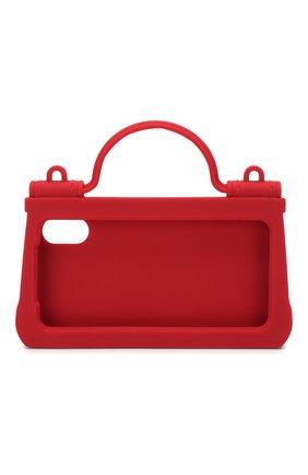 Мужской чехол для iphone x/xs DOLCE & GABBANA красного цвета, арт. BI1274/AA918 | Фото 2