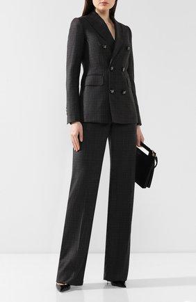 Женский шерстяной костюм DSQUARED2 темно-серого цвета, арт. S75FT0168/S52041 | Фото 1