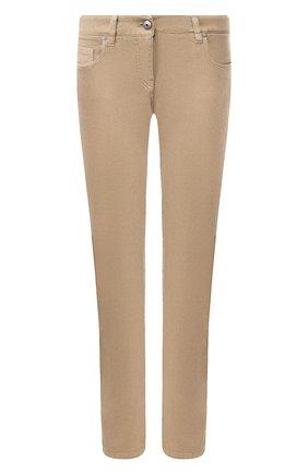 Женские джинсы BRUNELLO CUCINELLI хаки цвета, арт. M0H43P5491   Фото 1