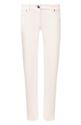 Женские джинсы BRUNELLO CUCINELLI бежевого цвета, арт. M0H43P5491 | Фото 1