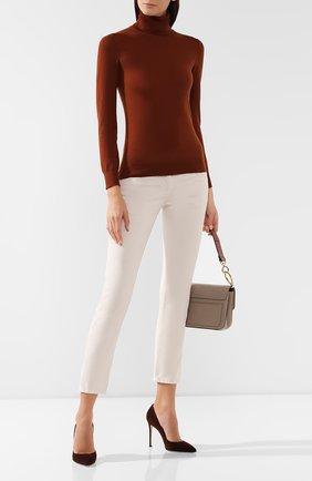 Женские джинсы BRUNELLO CUCINELLI бежевого цвета, арт. M0H43P5491 | Фото 2