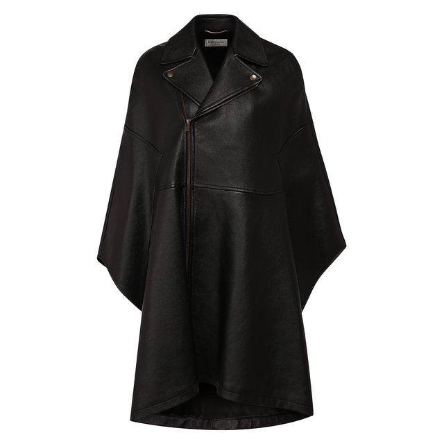 Кожаное пальто Saint Laurent