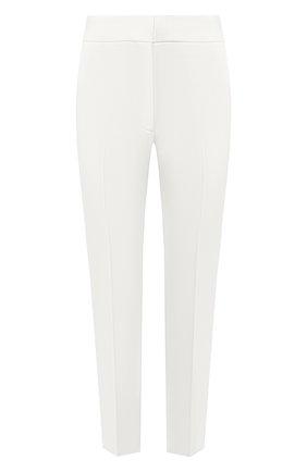 Женские брюки MSGM белого цвета, арт. 2741MDP26A 195600 | Фото 1