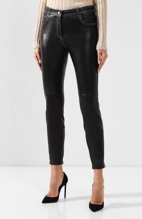 Кожаные брюки | Фото №3
