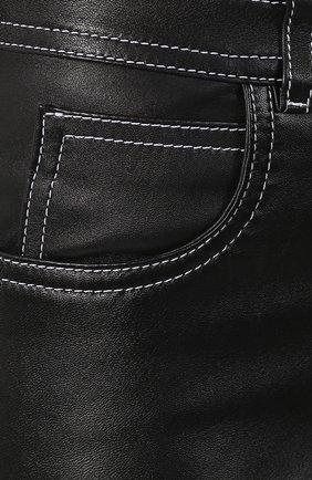 Кожаные брюки | Фото №5