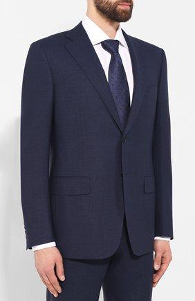 Мужской шерстяной костюм CANALI синего цвета, арт. 11220/10/BR02179 | Фото 2
