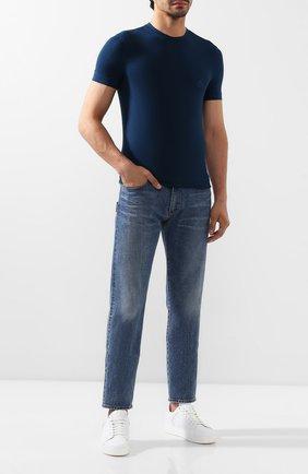 Мужские джинсы GIORGIO ARMANI синего цвета, арт. 6GSJ67/SDR1Z | Фото 2