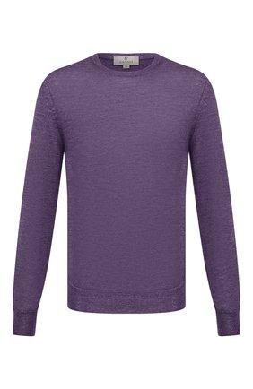 Мужской шерстяной джемпер CANALI фиолетового цвета, арт. C0012/MK00077   Фото 1