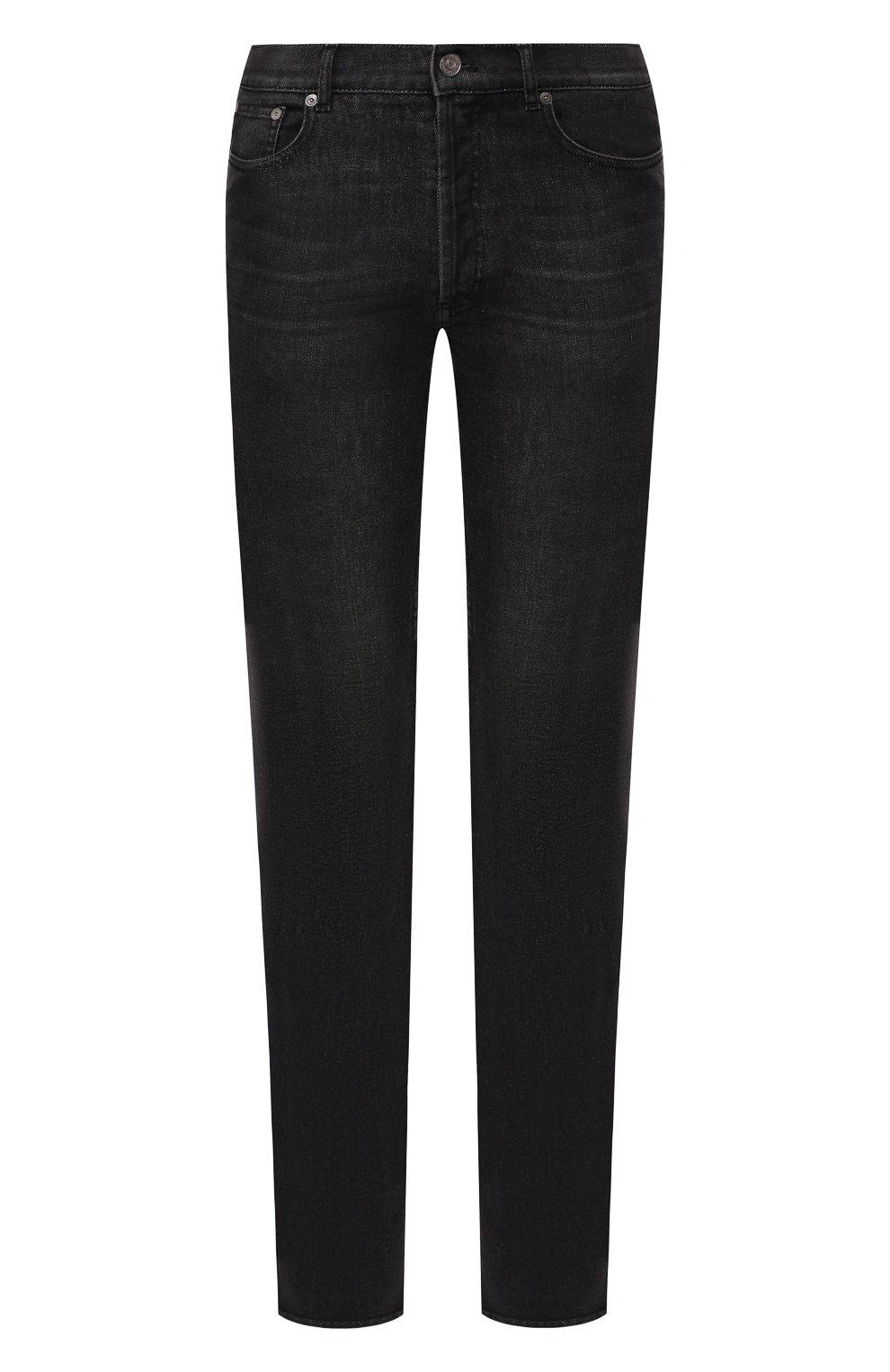Мужские джинсы GIVENCHY черного цвета, арт. BM50DF50BJ | Фото 1