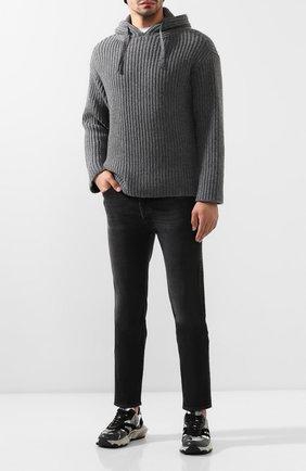 Мужские джинсы GIVENCHY черного цвета, арт. BM50DF50BJ | Фото 2
